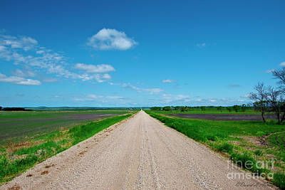 Photograph - Long Road To Nowhere by David Arment
