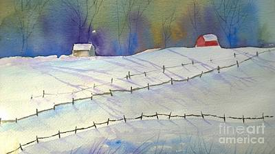 Painting - Long Shadows by Eunice Miller