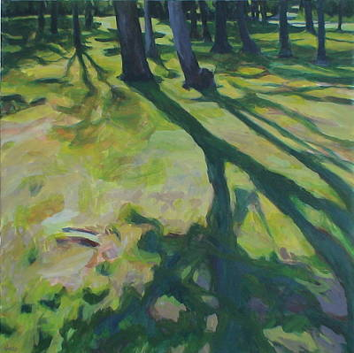 Painting - Long Shadows by Jackie Hoats Shields
