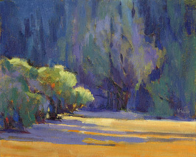 Painting - Long Shadows by Konnie Kim