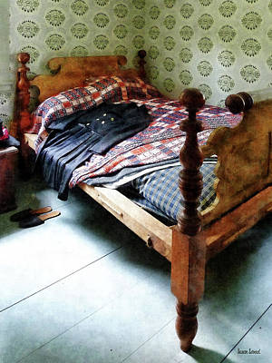 Photograph - Long Sleeved Dress On Bed by Susan Savad