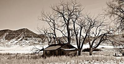 Photograph - Long Time Ago Sepia by Chalet Roome-Rigdon