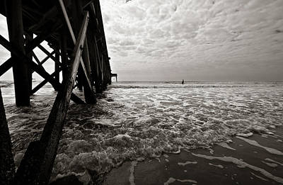 Photograph - Long To Surf by David Sutton