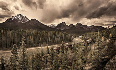 Photograph - Long Train Running by John Poon