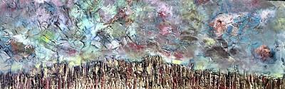 Landsape Painting - Long View by Dennis Ellman