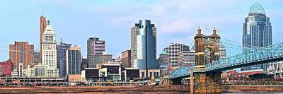 Photograph - Long View Of The Queen City by Frozen in Time Fine Art Photography