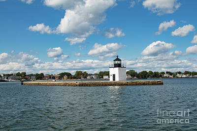Photograph - Long Walk Out To Derby Wharf Lighthouse by Jeff Folger