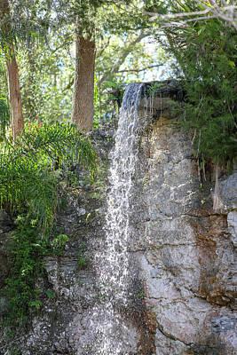 Photograph - Long Waterfall Drop by Raphael Lopez
