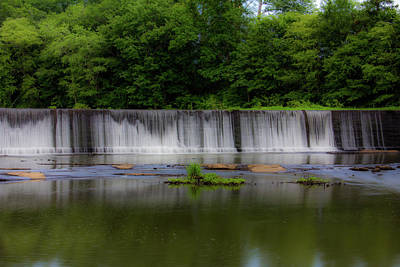 Photograph - Long Waterfall by Kenny Thomas