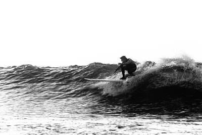 Energy Photograph - Longboard by Rick Berk