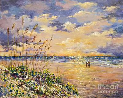 Painting - Longboat Key Hockleys View by Lou Ann Bagnall