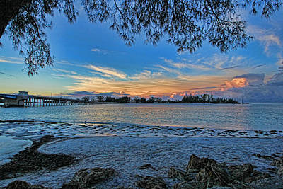Photograph - Longboat Pass by HH Photography of Florida