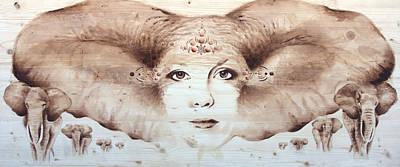 Wall Art - Painting - Longevity by Alicia Post