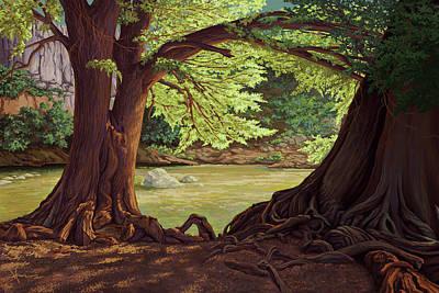 Painting - Longevity by Hans Neuhart