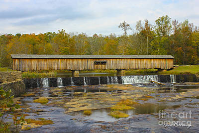 Photograph - Longevity Watson Mill Covered Bridge by Reid Callaway
