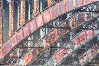 Longfellow Bridge Arches I Art Print by Clarence Holmes