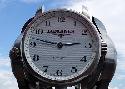 Longines Photograph - Longines by Anthony Schafer