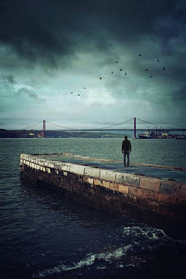 Sadness Photograph - Longing For The Departed by Carlos Caetano