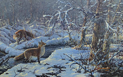Painting - Longing For The End Of Winter by Valentin Katrandzhiev