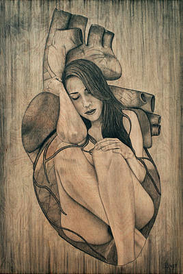 Drawing - Longing For You by Lynet McDonald