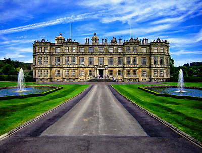Photograph - Longleat House by Anthony Dezenzio
