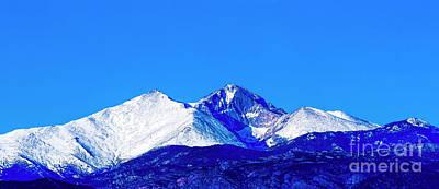 Longs Peak Diamond Original by Jon Burch Photography