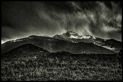 Photograph - Longs Peak From Above Bear Lake Road by Roger Passman