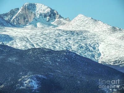 Photograph - Longs Peak by Lynn Sprowl