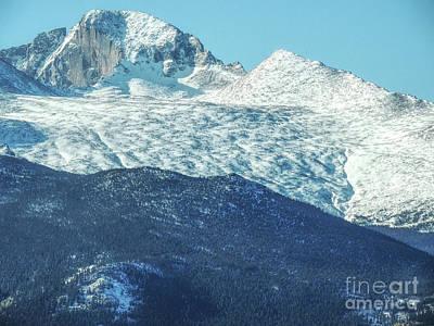 Photograph - Longs Peak by Lynn Sprowl
