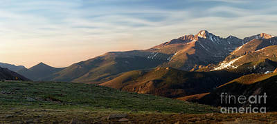 Photograph - Longs Peak Panorama by Ronda Kimbrow