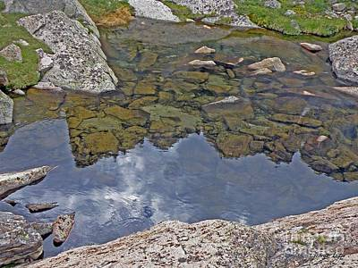 Photograph - Longs Peak Reflected by George Tuffy