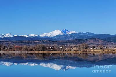 Longs Peak Reflections Original by Jon Burch Photography
