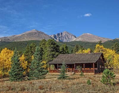 Photograph - Long's Peak by Ronald Lutz