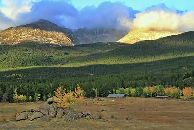 Photograph - Longs Peak Sunrise Colorado by Dan Sproul