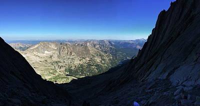 Photograph - Longs Peak Trough by Trent Mallett