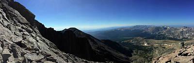 Photograph - Longs Peak West by Trent Mallett