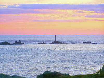 Photograph - Longships Light by Terri Waters