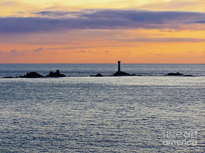 Photograph - Longships Silhouette by Terri Waters