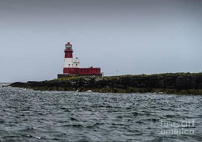 Photograph - Longstone  Lighthouse by Elvis Vaughn