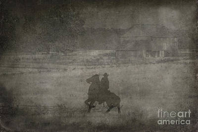 Longstreet Rides Again Art Print by Randy Steele
