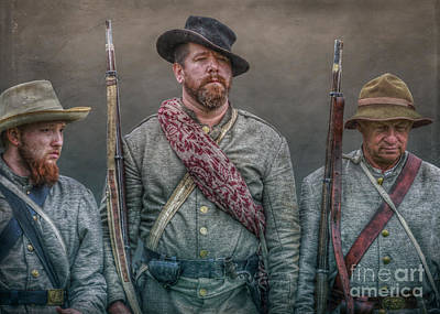 Infantry Digital Art - Longstreet's Boys by Randy Steele
