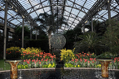 Photograph - Longwood Gardens Conservatory 2 by Andrew Dinh