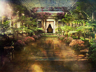 Longwood Gardens Art Print by John Rivera