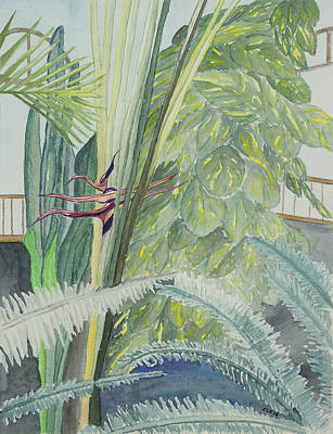 Longwood Gardens Painting - Longwood Gardens - Rejoice by Cynthia Schoeppel