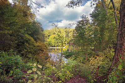 Photograph - Longwood Gardens View by John Rivera