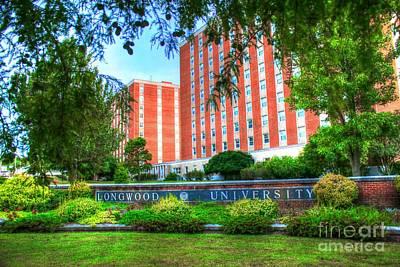 Hampden-sydney College Photograph - Longwood University - Farmville Virginia by Dave Lynch