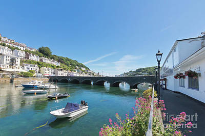 Photograph - Looe Bridge In Cornwall by Terri Waters