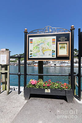 Photograph - Looe Heritage Trail by Terri Waters