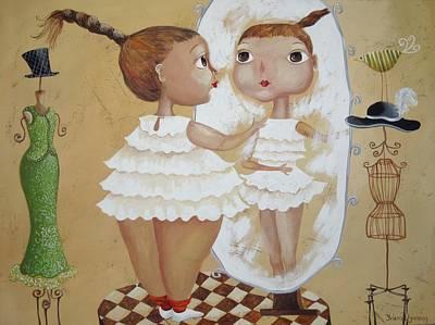 Look Alike Art Print by Yelena Revis