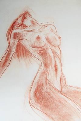 Drawing - Look At Me Now by Jarmo Korhonen aka Jarko